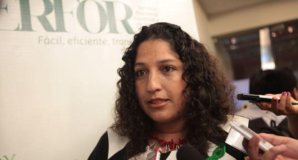 Foto 12 | Fabiola Muñoz, ministra del Ambiente.