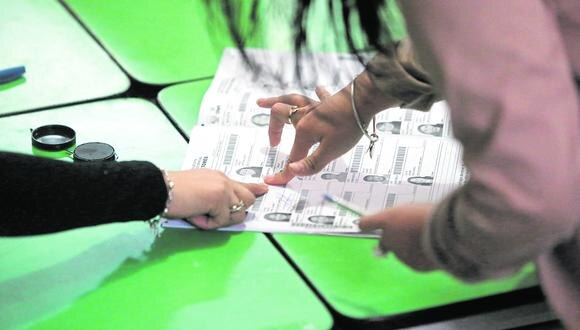 Votación. El JNE informó que más de 24 millones de peruanos están habilitados para votar en las elecciones del 2020. (Foto: GEC)