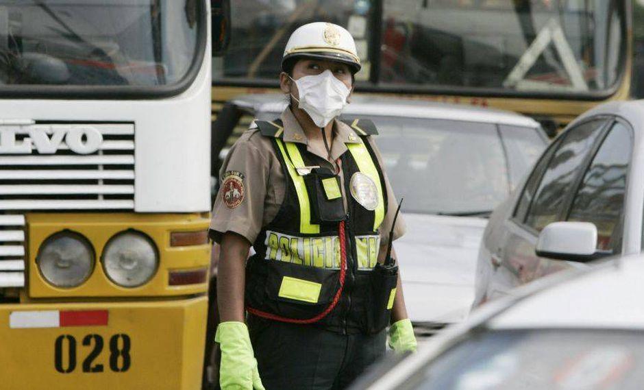 Contaminación del aire. (Foto: EFE)