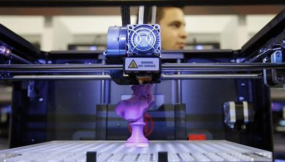 Impresoras 3D (Foto: AP)
