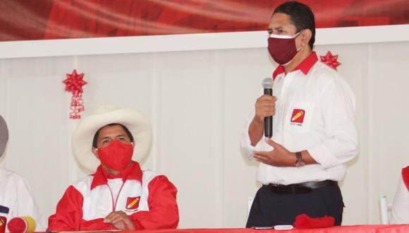 """Vladimir Cerrón respaldó la postura de Pedro Castillo a favor de un indulto a Antauro Humala """"por un exceso de carcelería"""" y no por la sentencia en su contra por el Andahuaylazo. (Foto: Perú Libre)"""