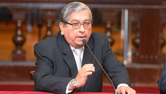 Julio Gutiérrez Pebe se pronunció sobre audios donde negocia con Walter Ríos el nombramiento de un fiscal. (Foto: Agencia Andina)
