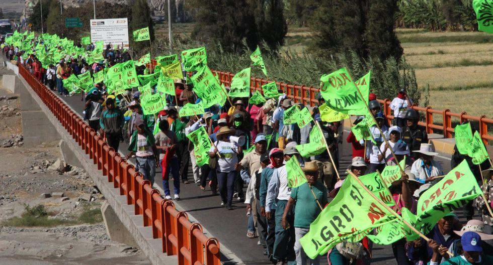 Consejo de Minería confirmó licencia al proyecto Tía María. (Foto: GEC)