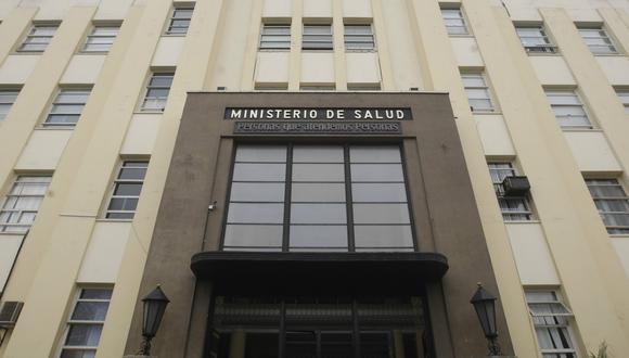 Ministerio de Salud. (Foto: Minsa)