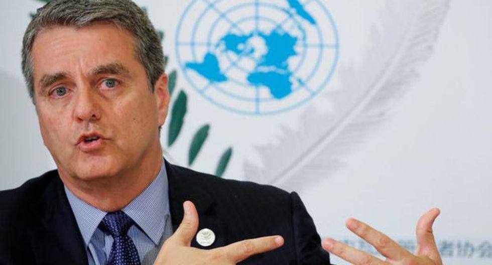 El director general de la Organización Mundial de Comercio, Roberto Azevedo. (Foto: Reuters)