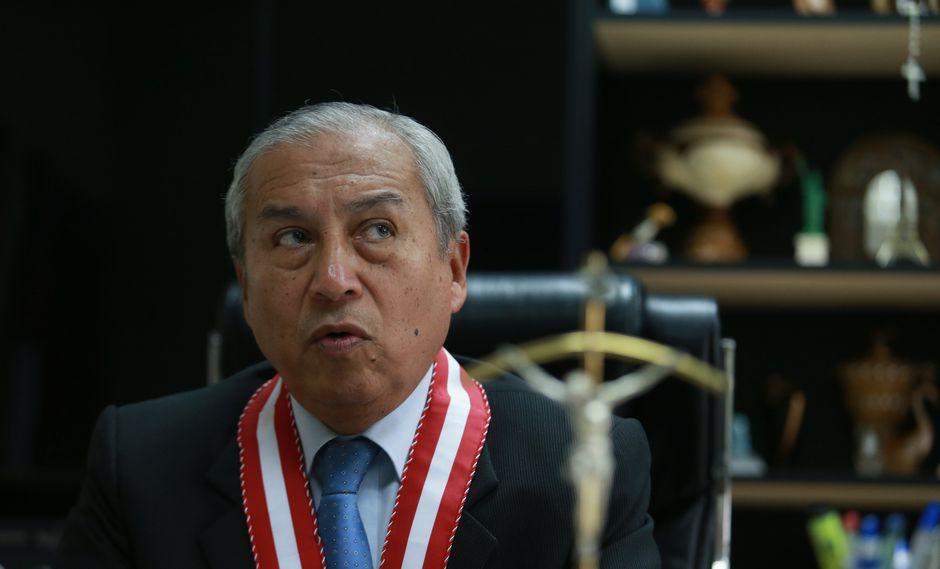 """Chávarry le pidió al CAL """"defender a sus agremiados ante amenazas y chantajes de grupos de poder que representan la corrupción en nuestro país"""". (Foto: USI)"""