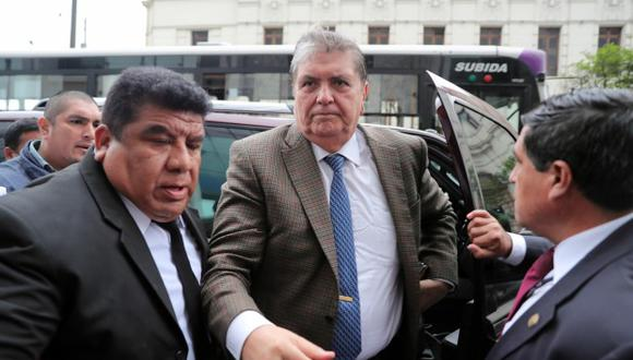 Alan García había asegurado que ni su campaña ni el Apra recibieron en el 2006 donación alguna de Odebrecht. (Foto: GEC)