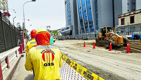 """""""La empresa OAS comunica que ha iniciado un proceso de colaboración eficaz en el Perú, en el marco de la legislación vigente en dicho país"""", sostuvo la empresa en un comunicado.(Foto: GEC)"""