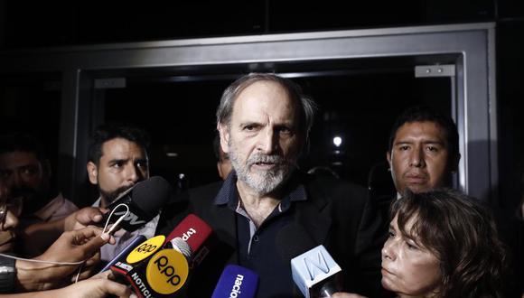 Yehude Simon está cumpliendo una orden de 36 meses de arresto domiciliario por el caso Odebrecht. (Foto: GEC)