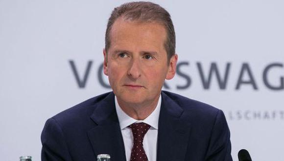 Herbert Diess, jefe global de la marca Volkswagen. (Foto: Difusión)
