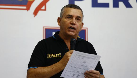 Daniel Urresti cuestionó la reforma policial iniciada por el Gobierno de Francisco Sagasti . (Foto: Archivo de GEC)