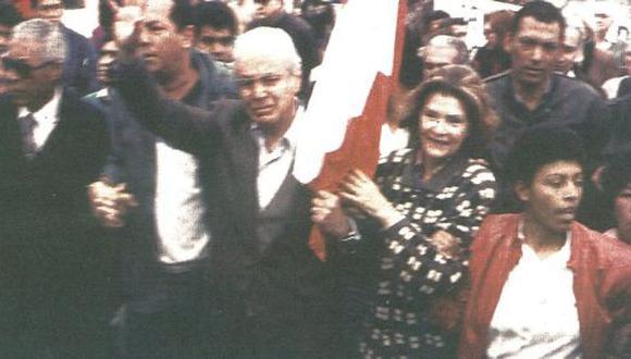 Javier Pérez de Cuéllar tuvo su primer contacto con la población de Lima en el distrito de Villa El Salvador