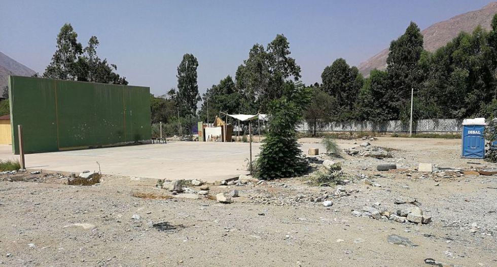 """Un total de 15 familias dejaron el albergue temporal del asentamiento humano """"Santa María Baja"""" en Chosica. (Foto: Difusión)"""