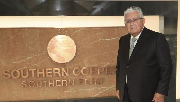 28 DE FEBRERO DE 2018   Entrevista Oscar Gonzalez Rocha, CEO de Southern Copper  FOTO : ROLLY REYNA / EL COMERCIO PERU