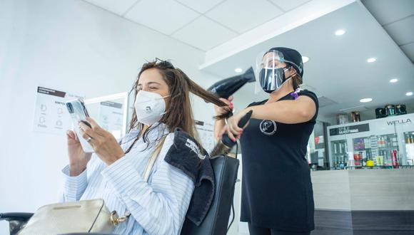 Solo el 50% de salones de belleza resistió a la pandemia.