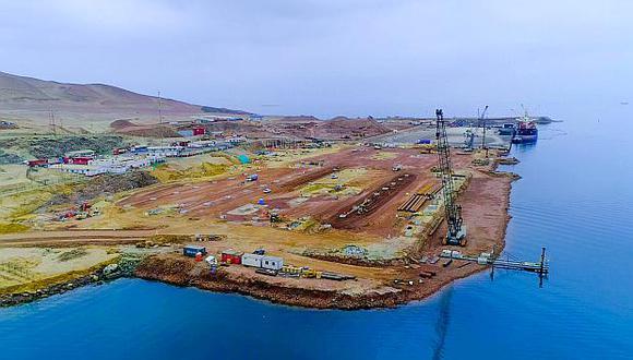 Con la modernización del Puerto San Martín de Pisco, este será comparable a los puertos del mundo en términos de productividad y tecnología. (Foto: GEC)<br>