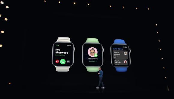 Los nuevos Apple Watch fueron presentados durante el Apple Event. (Apple)