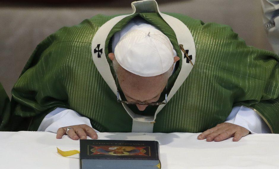 El papa Francisco cedió ante las peticiones de los grupos judíos. (Foto: AP)