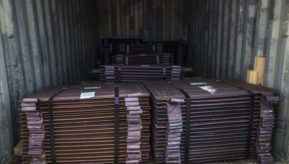 Para el 2021, Cochilco prevé que el cobre promedie unos US$ 2.85 por libra, inferior a los US$ 2.90 previstos en abril. (Foto: Bloomberg)