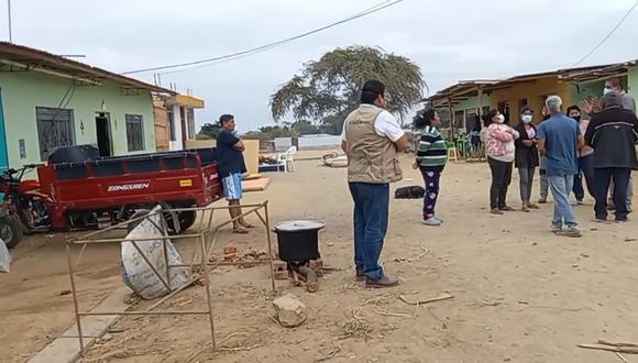 El sismo del último viernes dejó cientos de personas damnificados. (Foto: Municipalidad Provincial de Sullana)