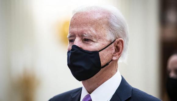 El estudio reveló que la popularidad de Biden en el extranjero se veía socavada por el pesimismo, incluidas las creencias de que el sistema político de EE.UU. está roto. (Moda, Estados Unidos) EFE/EPA/AL DRAGO / POOL