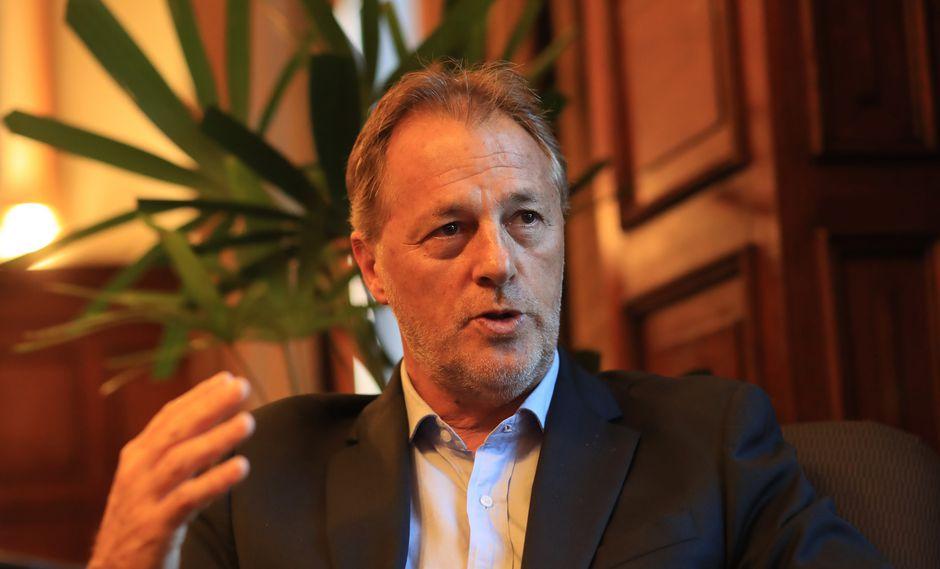 El alcalde electo de Lima, Jorge Muñoz, reiteró su pedido ante la comuna lima, para que transparente su actual sistema financiero. (FOTO: USI)