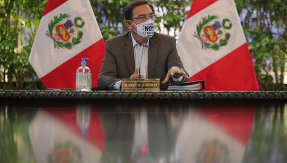 El domingo pasado se dio a conocer que el fiscal Germán Juárez, miembro del equipo especial Lava Jato, abrió investigación preliminar contra el presidente Martín Vizcarra por presuntamente haber recibido un soborno en el caso Obrainsa. (Foto: Presidencia)