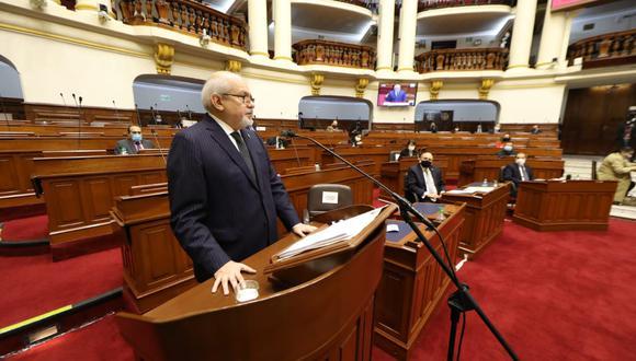 """Editorial de Gestión. Ahora habrá que esperar que este Gabinete pase rápidamente del discurso a la acción"""". (Foto: Congreso)"""