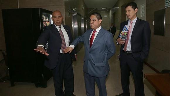 César Hinostroza afrontará un proceso de extradición al Perú en prisión. (Foto: Agencia Andina)