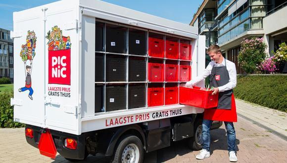 Fundada en 2015, Picnic ha puesto en circulación una flota de 1,000 camionetas eléctricas en las calles de los Países Bajos y Alemania.