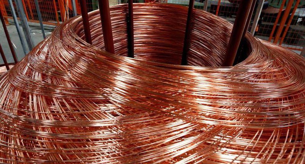 El cobre se encuentra estancado desde mayo en un rango de entre US$ 5,600 y US$ 6,100. (Foto: Reuters)