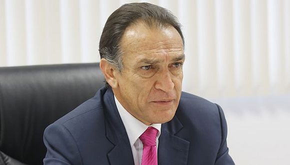 Héctor Becerril fue denunciado por la fiscal de la Nación por presuntos delitos cometidos en Aucallama y en Chiclayo. (Foto: GEC)