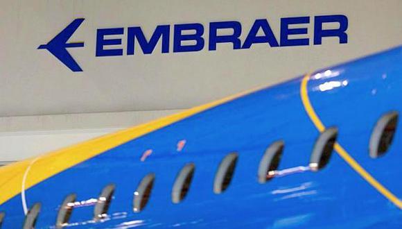 Las acciones de Embraer caían 0.14% este jueves. (Foto: Reuters)