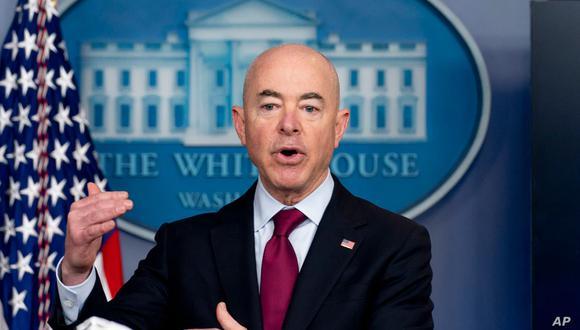 Alejandro Mayorkas, secretario de Seguridad Nacional de Estados Unidos. (Foto: AP).