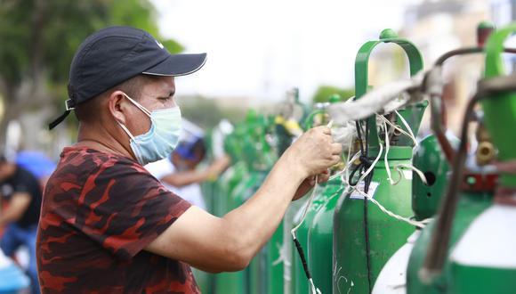 Ministró señaló que se ha importado 216 toneladas de oxígeno, provenientes de Ecuador, para atender los centros de atención y asilamiento temporal en Amazonas. (Foto: GEC)
