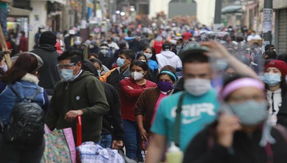 Luis Rodríguez indicó que para proyectar el número de contagios se han tomado en cuenta las tendencias registradas en Europa. (Foto: Miguel Bellido/GEC).