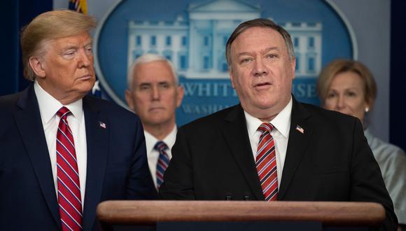 Exsecretario de Estado de EE.UU., Mike Pompeo. (Foto: AFP)