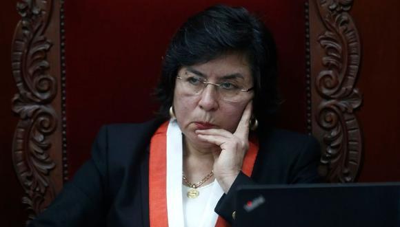 Marianella Ledesma fue elegida esta mañana como nueva presidenta del TC para el 2020 y 2021.  (Foto: GEC).