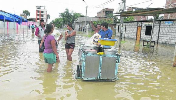 Piura fue una de las zonas más afectadas por el Fenómeno El Niño. (GEC)
