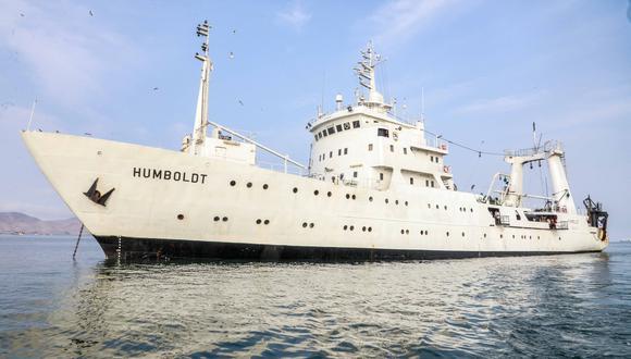 Crucero se realizara  a bordo de los Buques de Investigación Científica (BIC) José Olaya Balandra y Humboldt. (Foto: Produce)