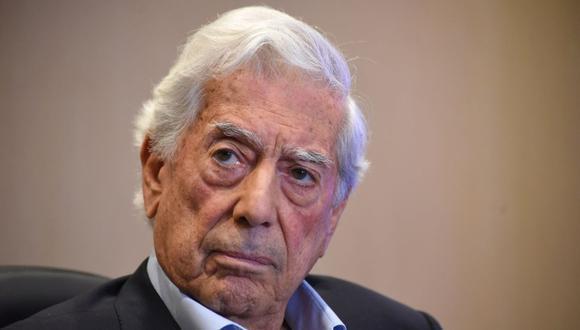 Mario Vargas Llosa. (Foto: AFP).
