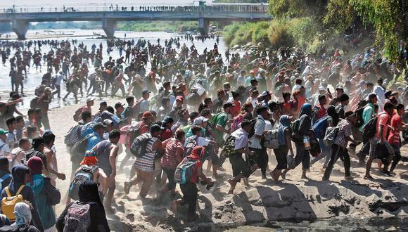 Más de 35,000 refugiados han sido evaluados y aprobados para ingresar a Estados Unidos, pero miles fueron descalificados bajo los estrictos criterios de elegibilidad que Trump estableció en octubre cuando estableció el límite mínimo. (Foto: AFP / Johan Ordoñez).