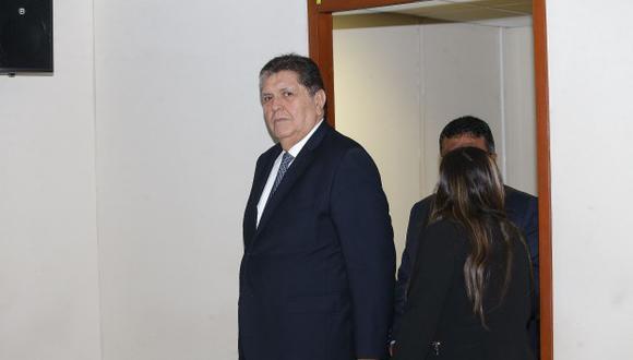 """Alan García calificó de """"especulaciones sin una sola prueba"""" y de """"humo"""" ampliación de investigaciones por el caso Odebrecht. (Foto: GEC)"""