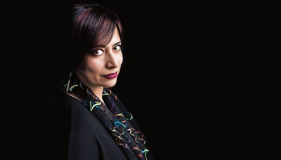 Impulso. Ángela Delgado es la directora de Desarrollo del Hay Festival Arequipa. (Foto: Daniel Mordzinski)