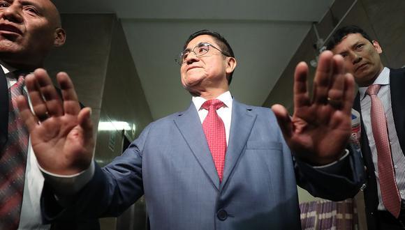César Hinostroza fue suspendido como juez supremo luego de la difusión de audios que revelaron actos de corrupción en el Poder Judicial y el CNM. (Foto: USI)