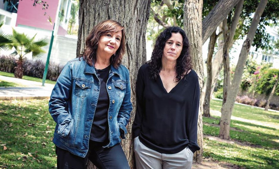 A cargo. Fietta Jarque y Sharon Lerner (de izq. a der.)
