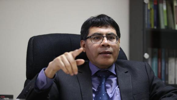 El fiscal Germán Juárez investigó a los Humala - Heredia por presuntamente haber recibido dinero de Venezuela y Odebrecht para sus campañas. (Foto: Alessandro Currarino)