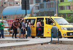 Defensoría del Pueblo advierte riesgos por ley de taxis colectivos aprobada en el Congreso