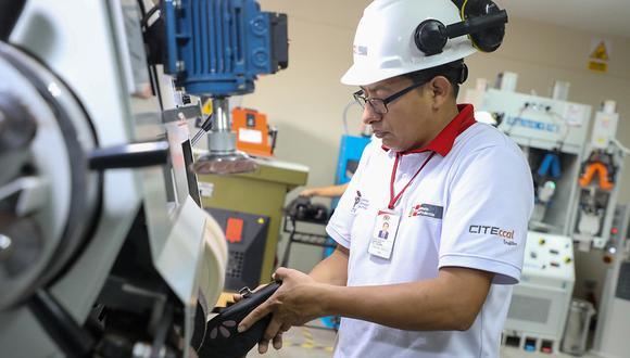 En el CITE de cuero y calzado en Trujillo se ha implementado maquinaria de última generación para el área de Diseño y Desarrollo de Productos. (Foto: Produce)