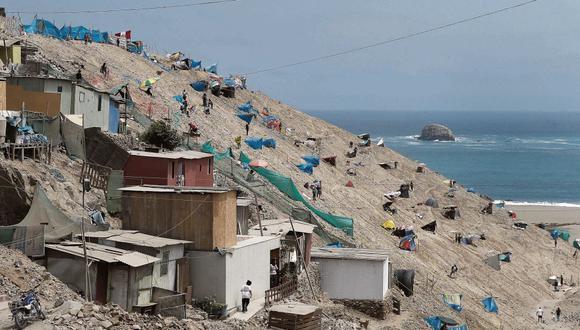 Invasiones. Aumentan en épocas de elecciones, según SBN. (Foto: César Campos/GEC)